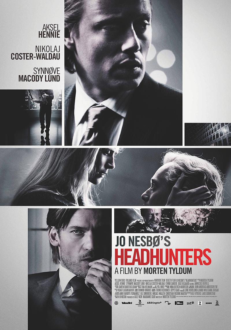 Headhunters, by Jo Nesbø