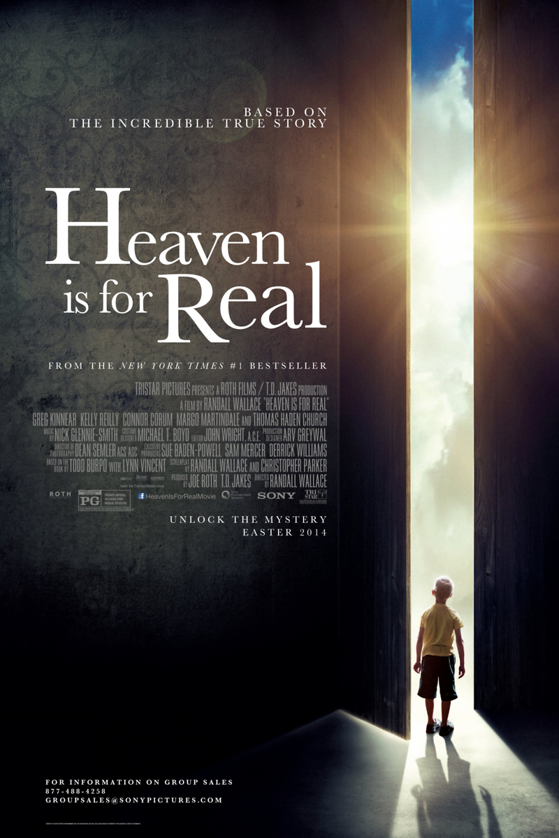 Heaven Is For Real Movie Heaven Is for Real DVD...