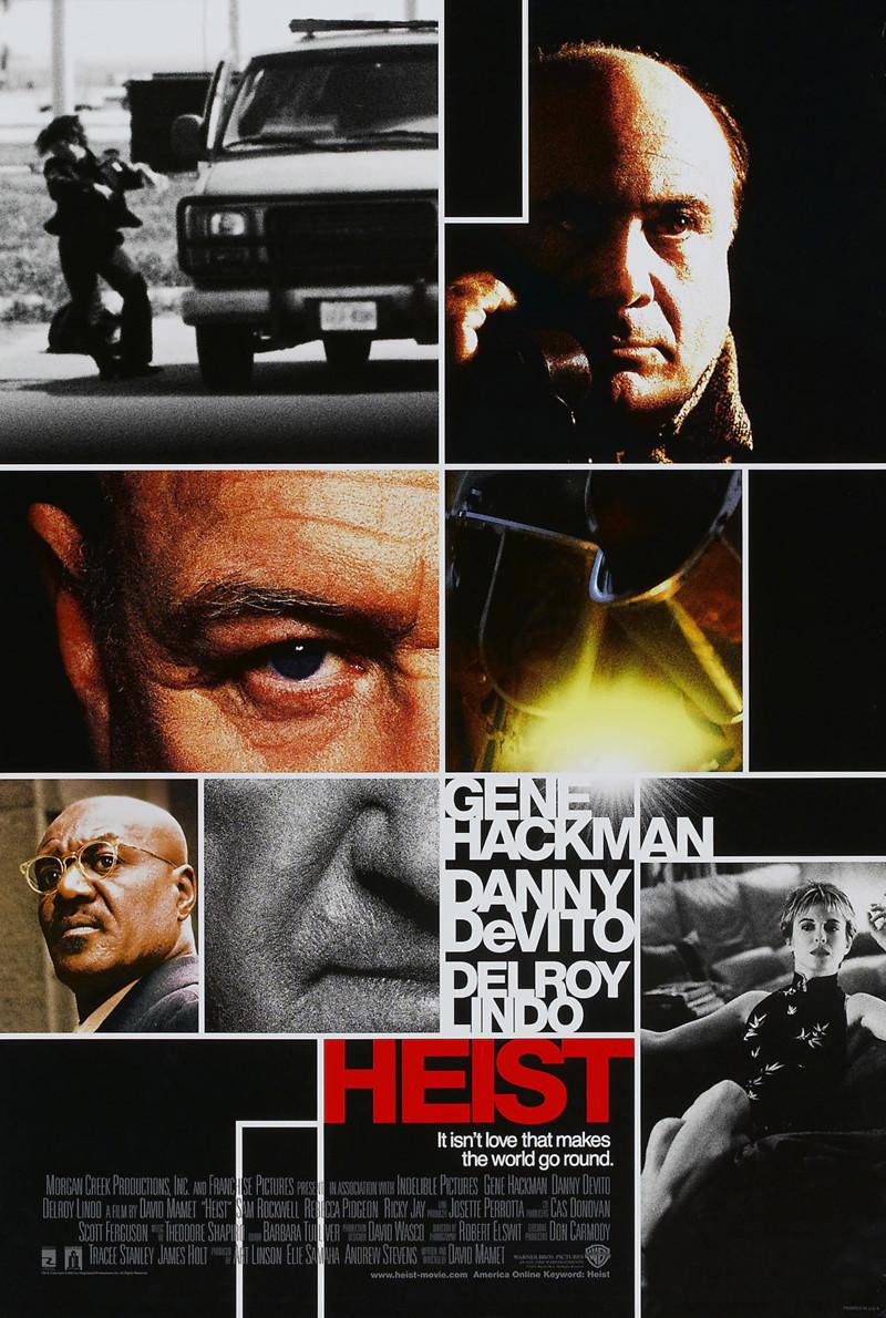 Heist DVD Release Date March 12, 2002