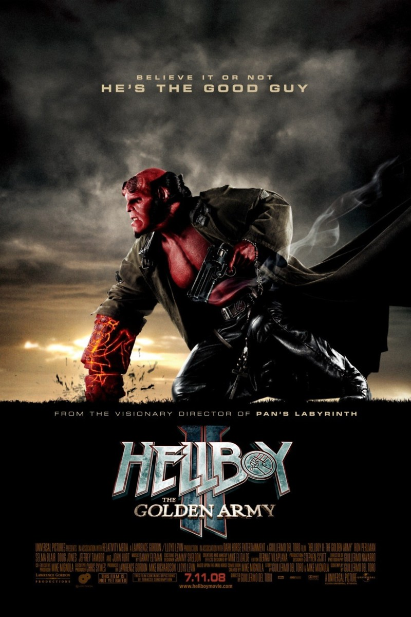 Hellboy 3 release date in Brisbane