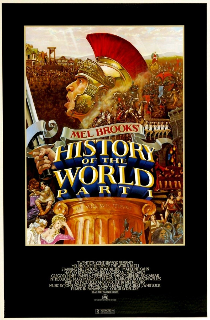 history of the world part i dvd release date