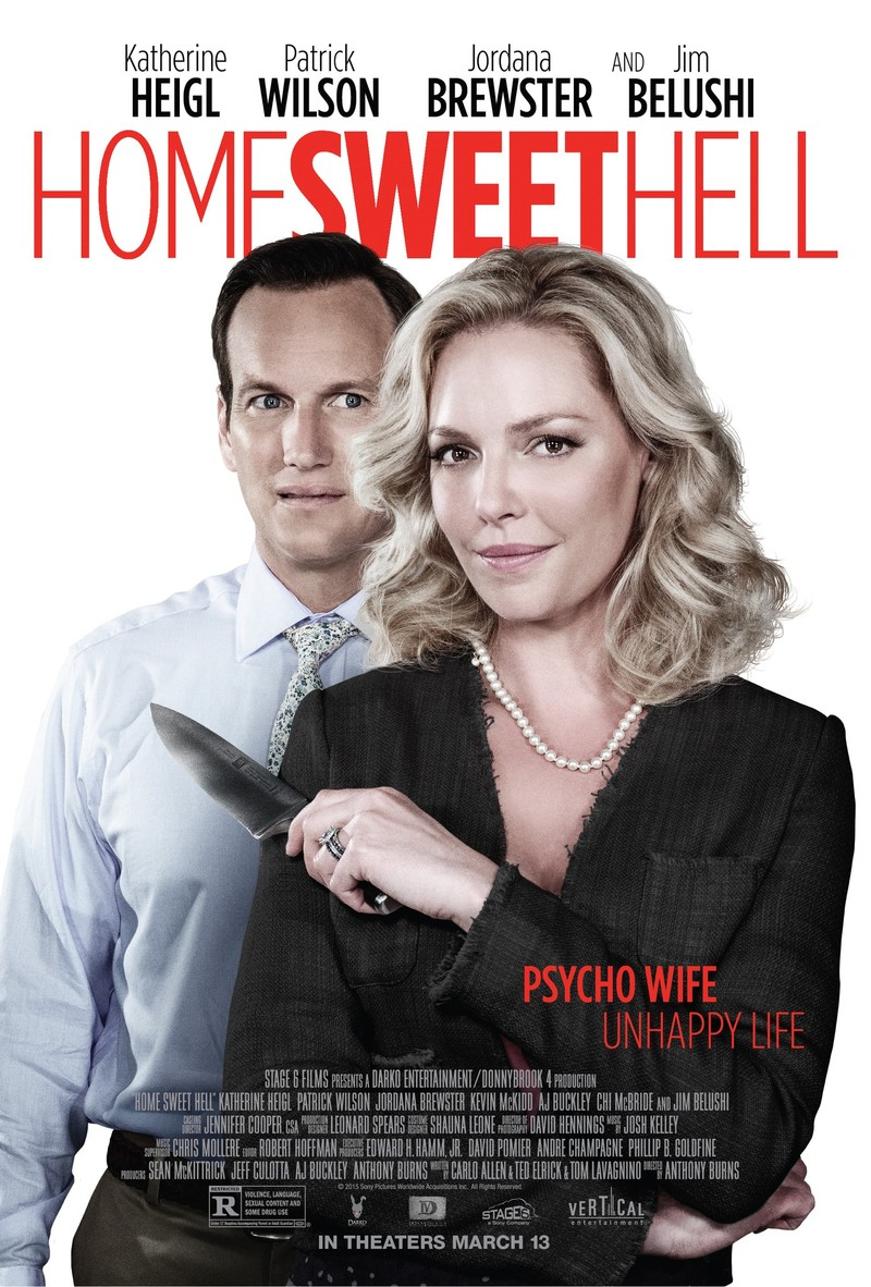 Home Sweet Hell DVD Release Date April 7, 2015