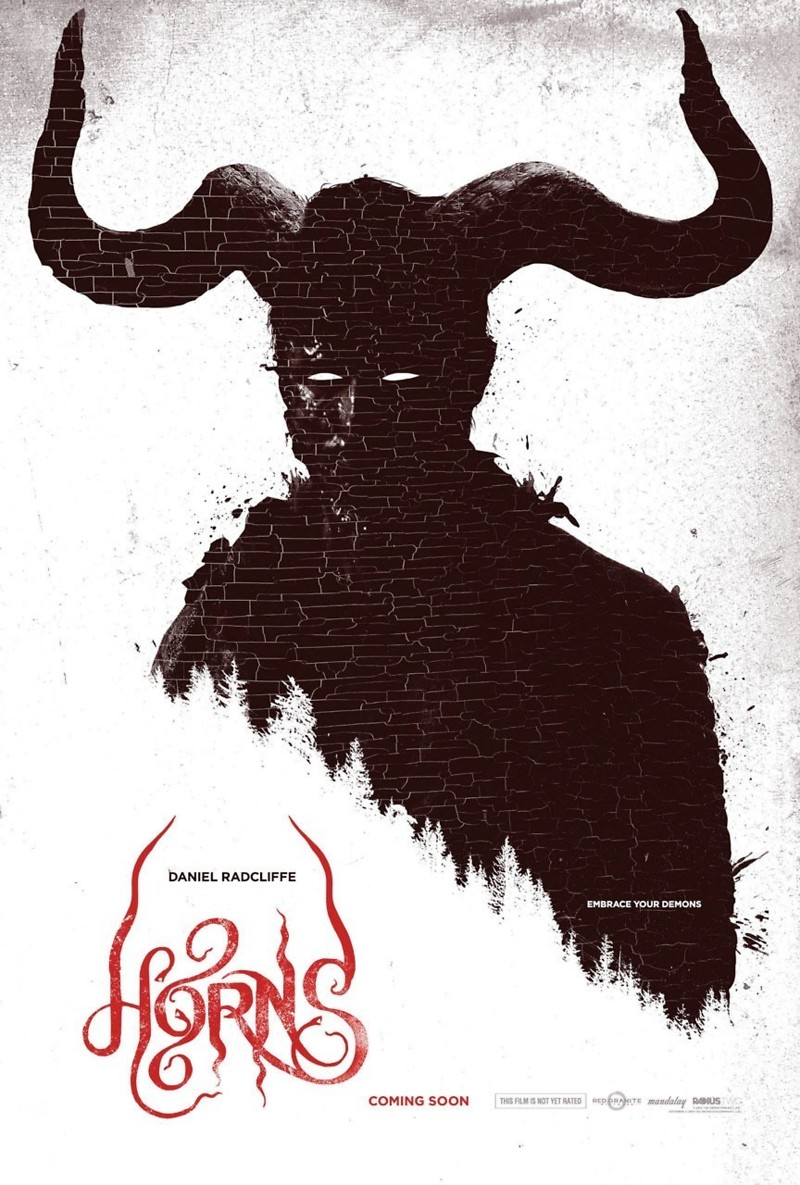 Horns DVD Release Date January 6, 2015 Horns Movie Poster