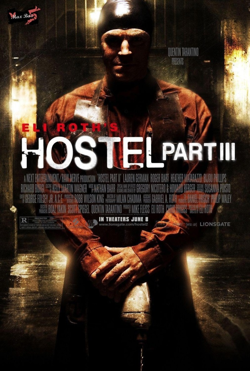Hostel: Part III DVD Release Date December 27, 2011