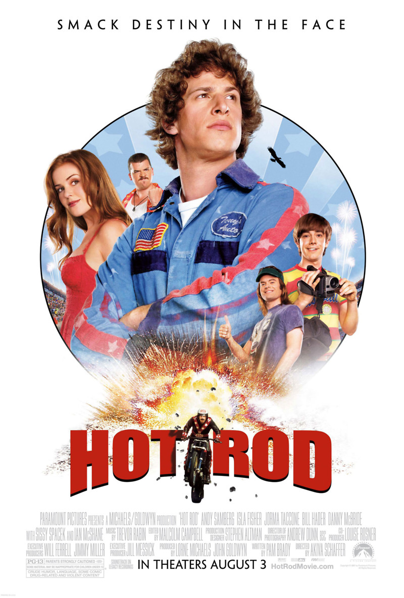 hot rod dvd release date november 27 2007