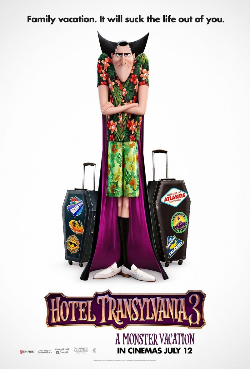 Hotel Transylvania 3 Summer Vacation 2018 DVD Release Date Movie Poster
