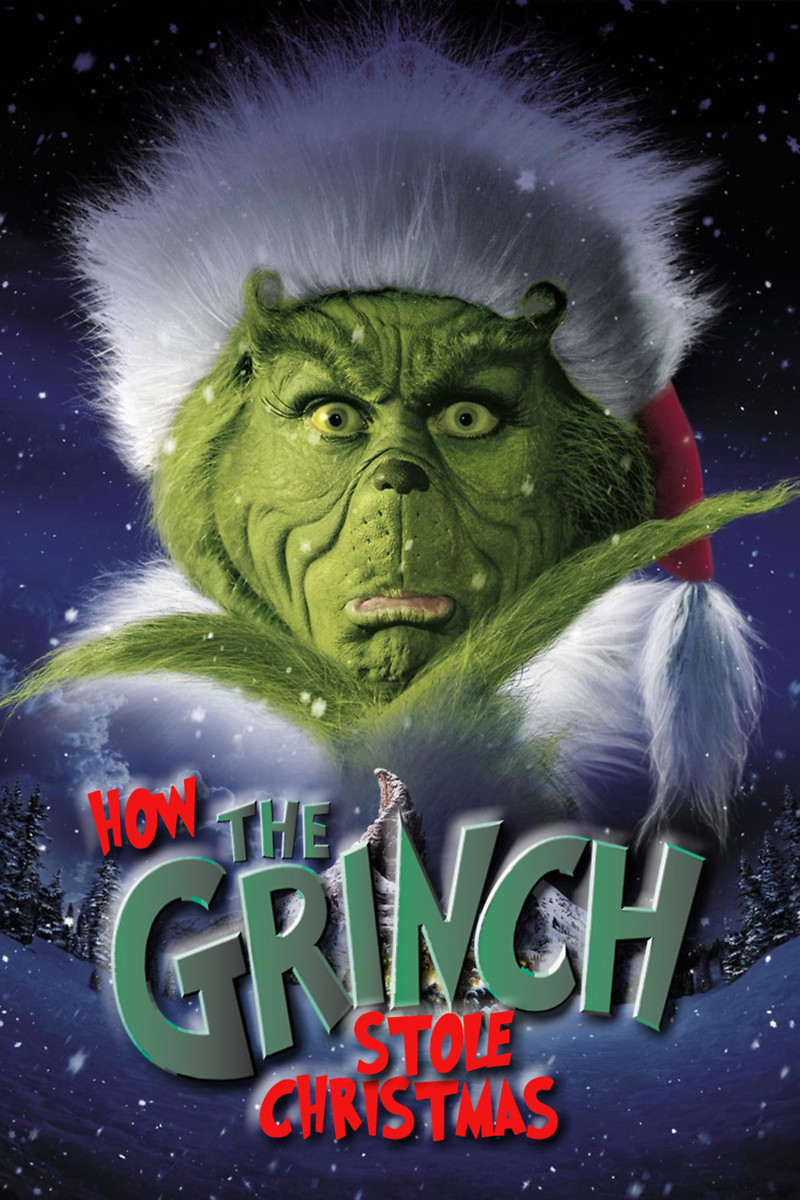 how the grinch stole christmas 2000 dvd release date movie poster