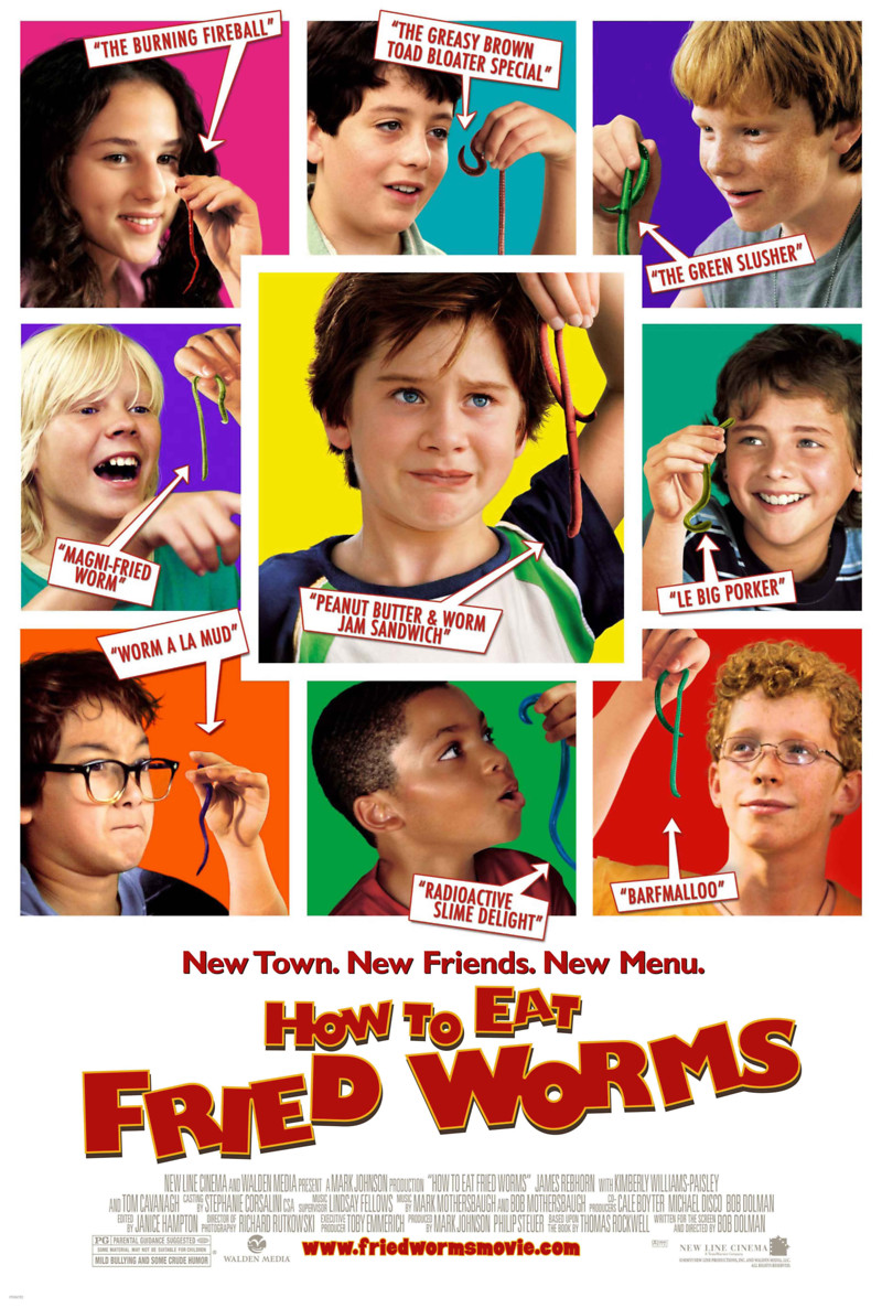 How To Eat Fried Worms (2006) Dvd Release Date Movie Poster
