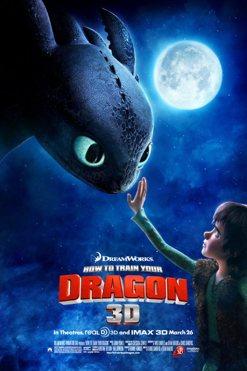 How To Train Your Dragon (2010) Dvd Release Date Movie Poster