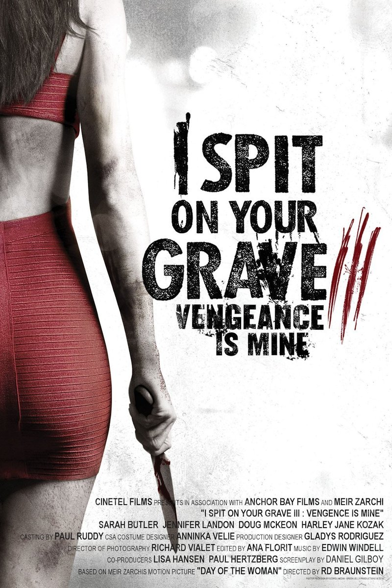 i spit on your grave 3 vengeance is mine dvd release date