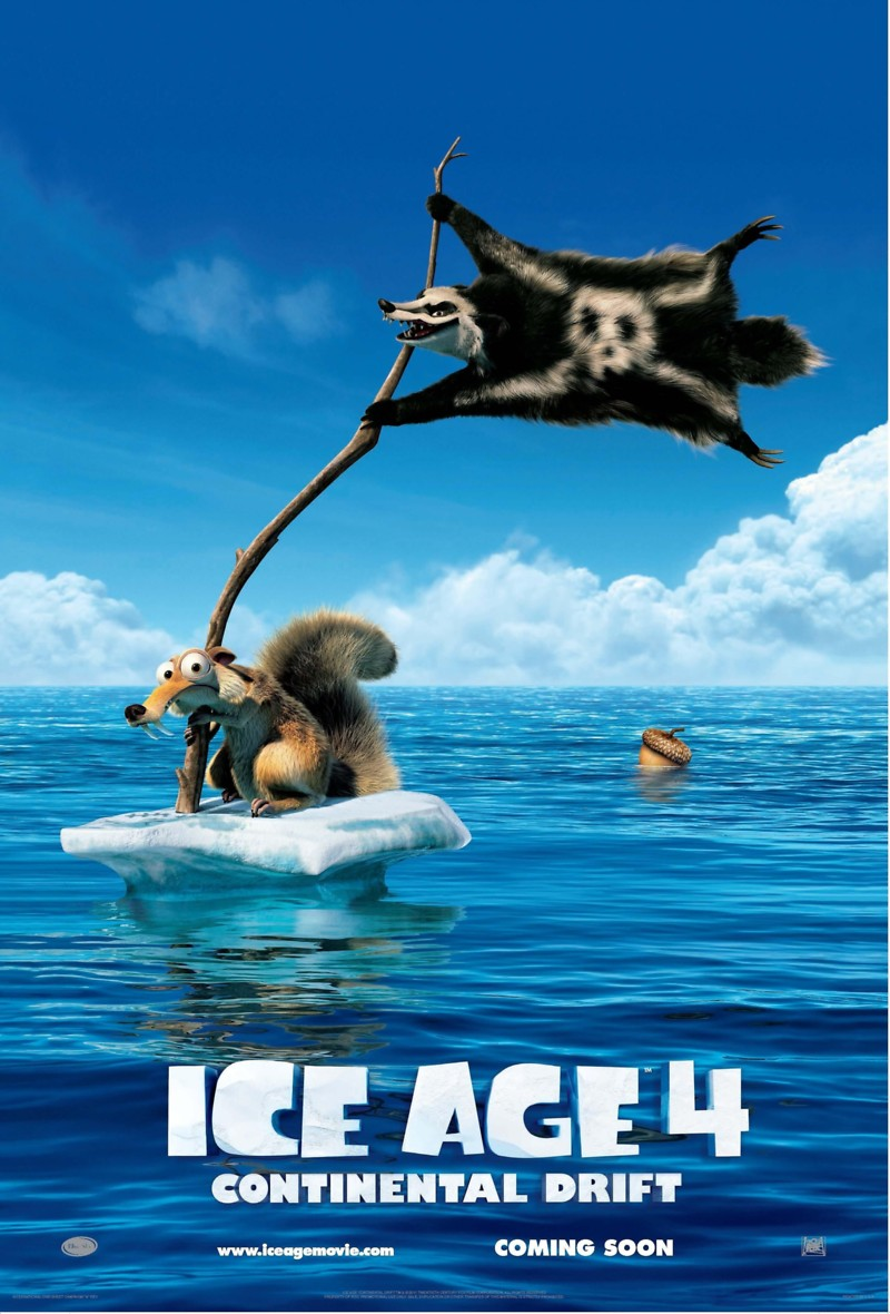Ice Age: Continental Drift DVD Release Date December 11, 2012