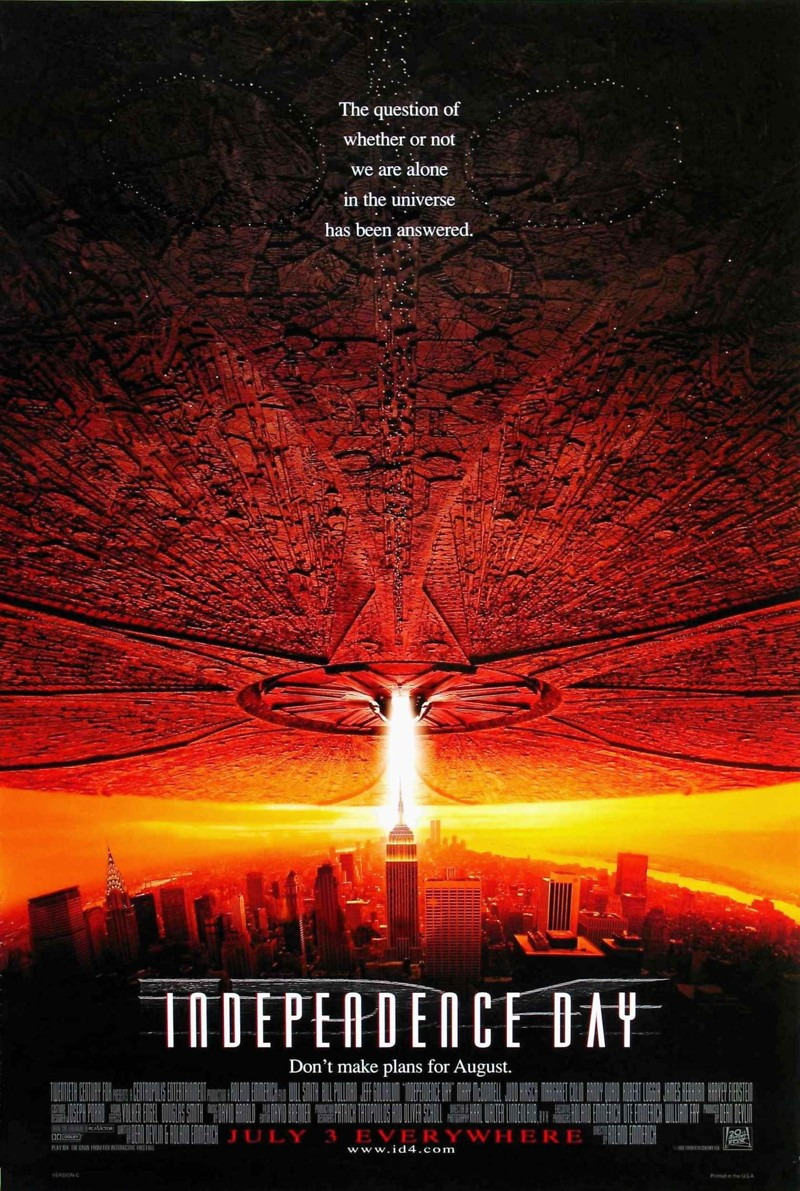 Independence day release date in Australia
