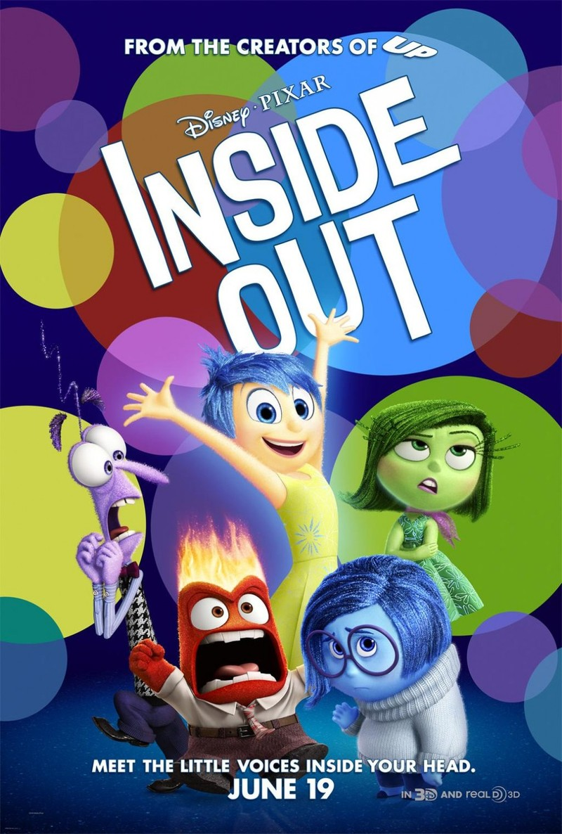 Inside Out DVD Release Date November 3 2015