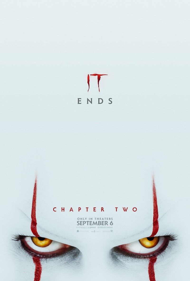 It Chapter Two DVD Release Date December 10, 2019