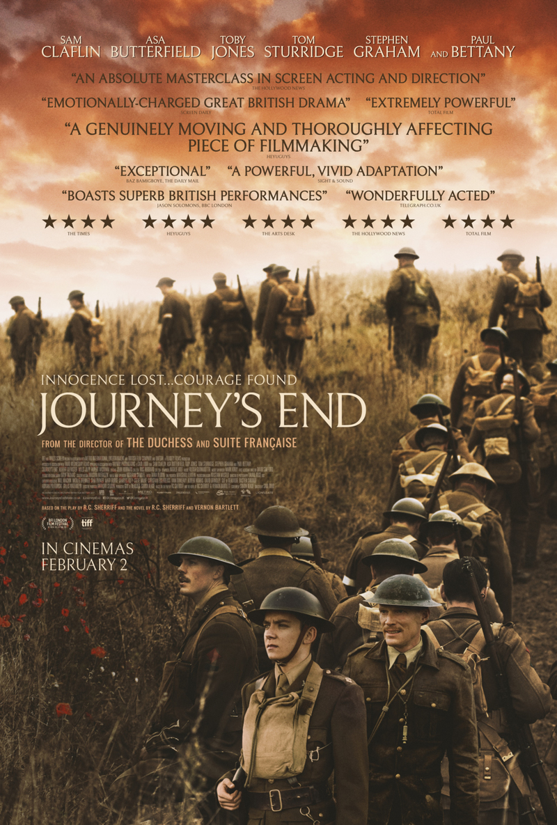 6 July 2018 Released Movie: Journey's End DVD Release Date July 3, 2018