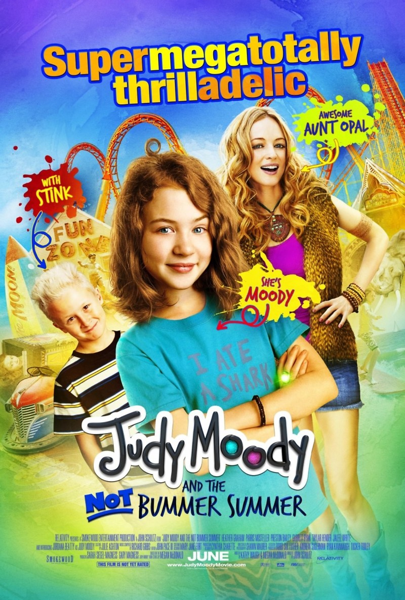 Judy Moody And The Not Bummer Summer Dvd Release Date October 11 2011