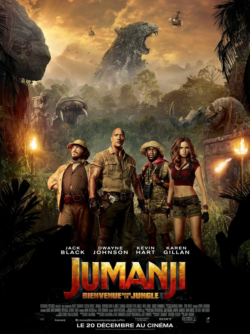 Jumanji Welcome to the Jungle 2017 BluRay 1080p 2.5GB Org DD5.1 [Hindi-Telugu- Eng] MKV