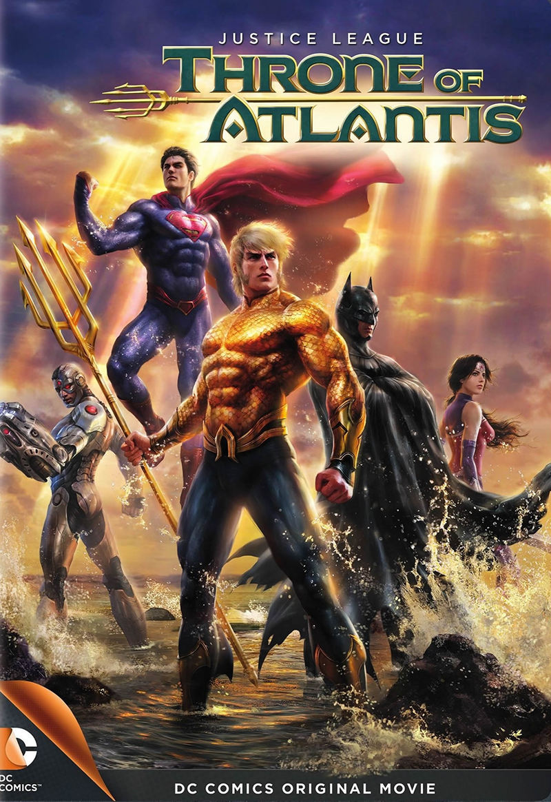 Justice League Throne Of Atlantis Dvd Release Date January 27 2015