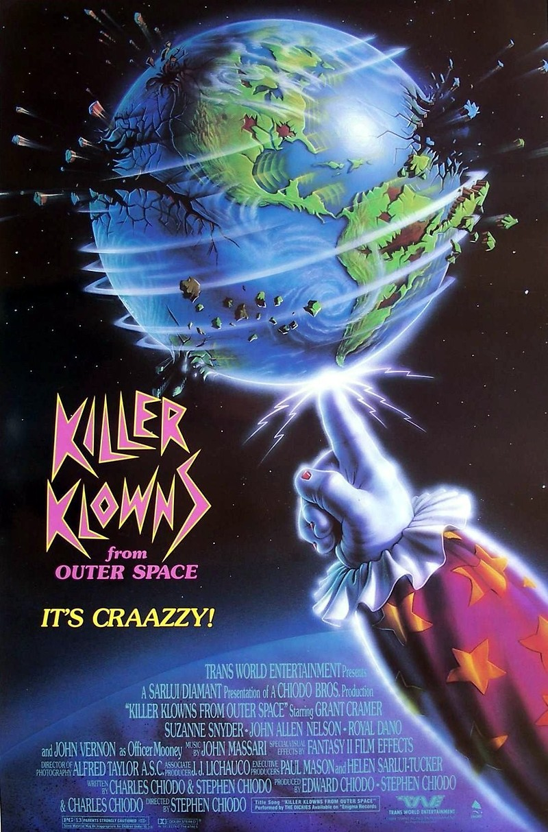 Killer klowns from outer space dvd release date for Outer space movies