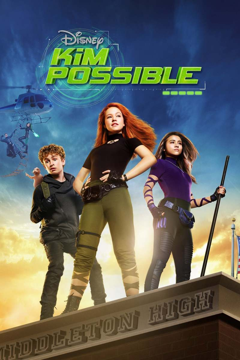 Movie Poster 2019: Kim Possible DVD Release Date March 26, 2019