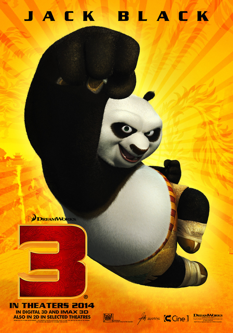 Kung Fu Panda 3 UK release date, trailer and DVD details