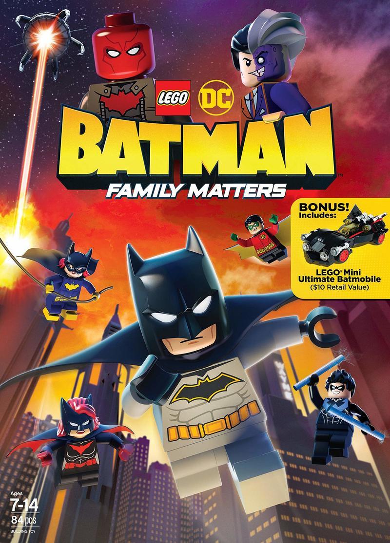 LEGO DC: Batman - Family Matters DVD Release Date August ...