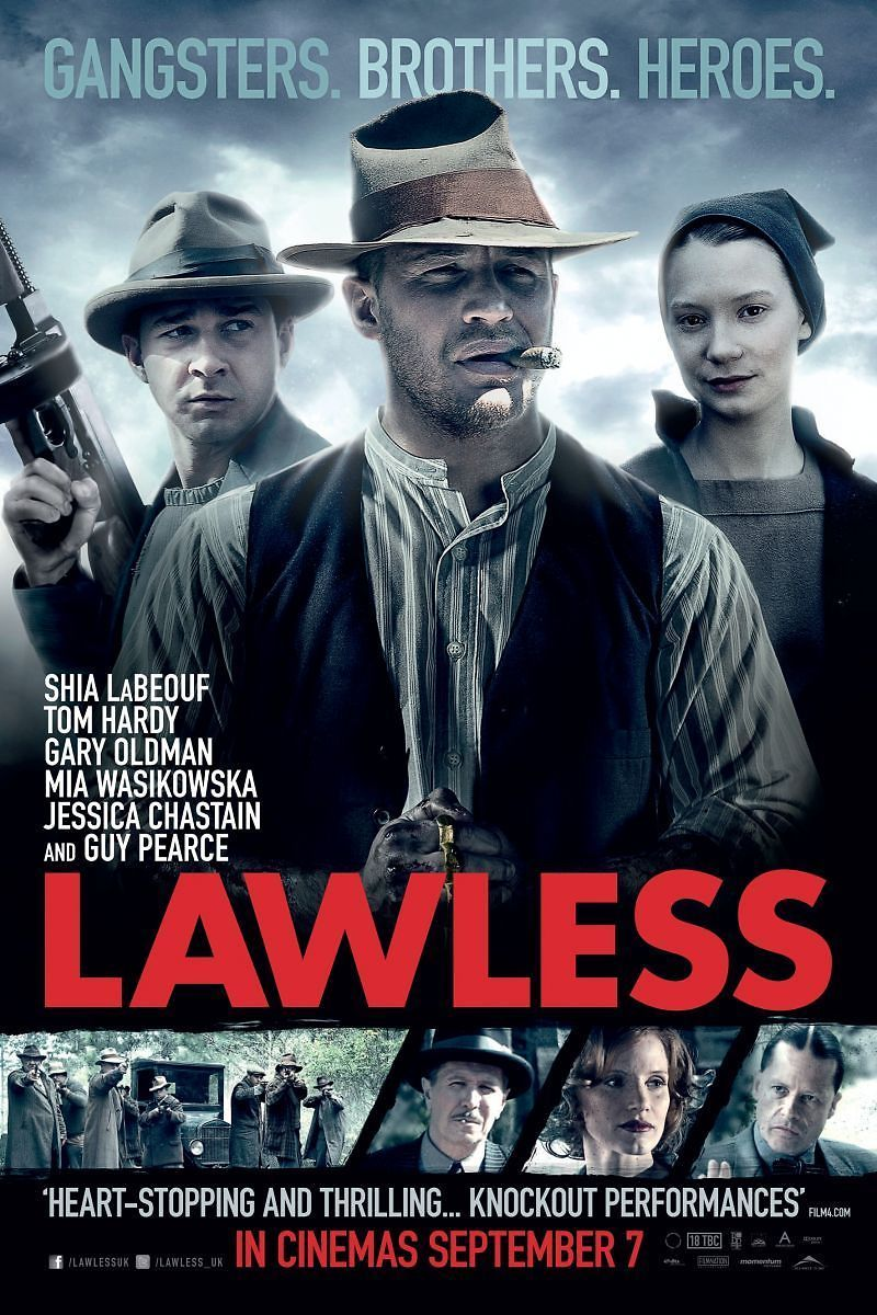 lawless dvd release date november 27 2012