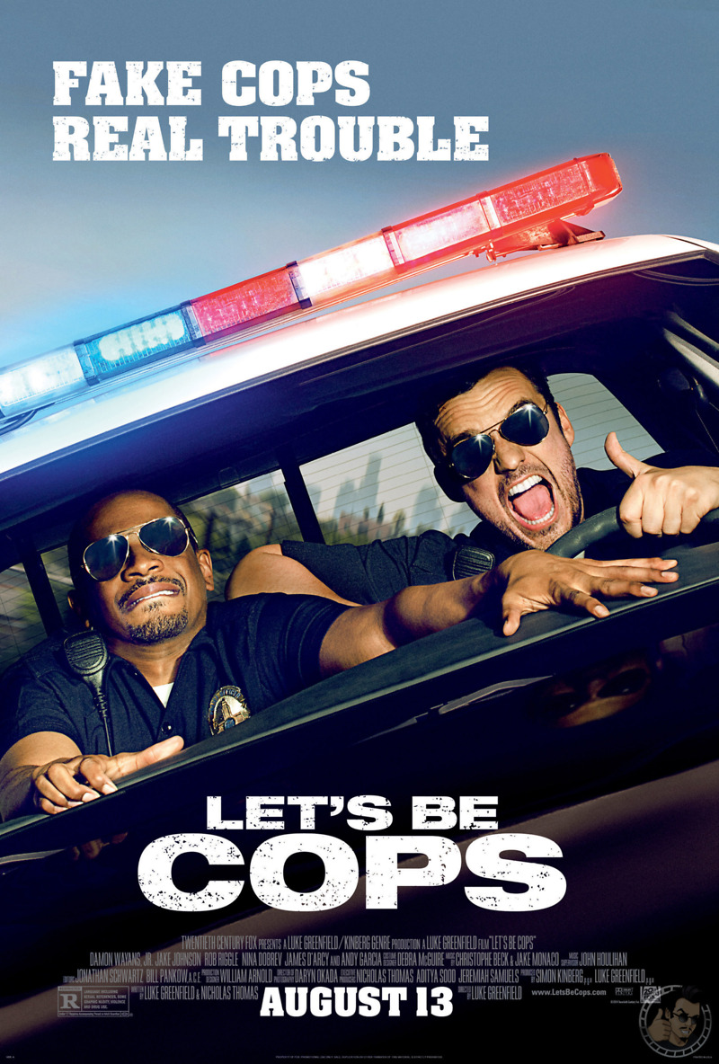 let s be cops 2014 blu ray dvd release date november 11 2014 1 2 3 4 5    Lets Be Cops Poster