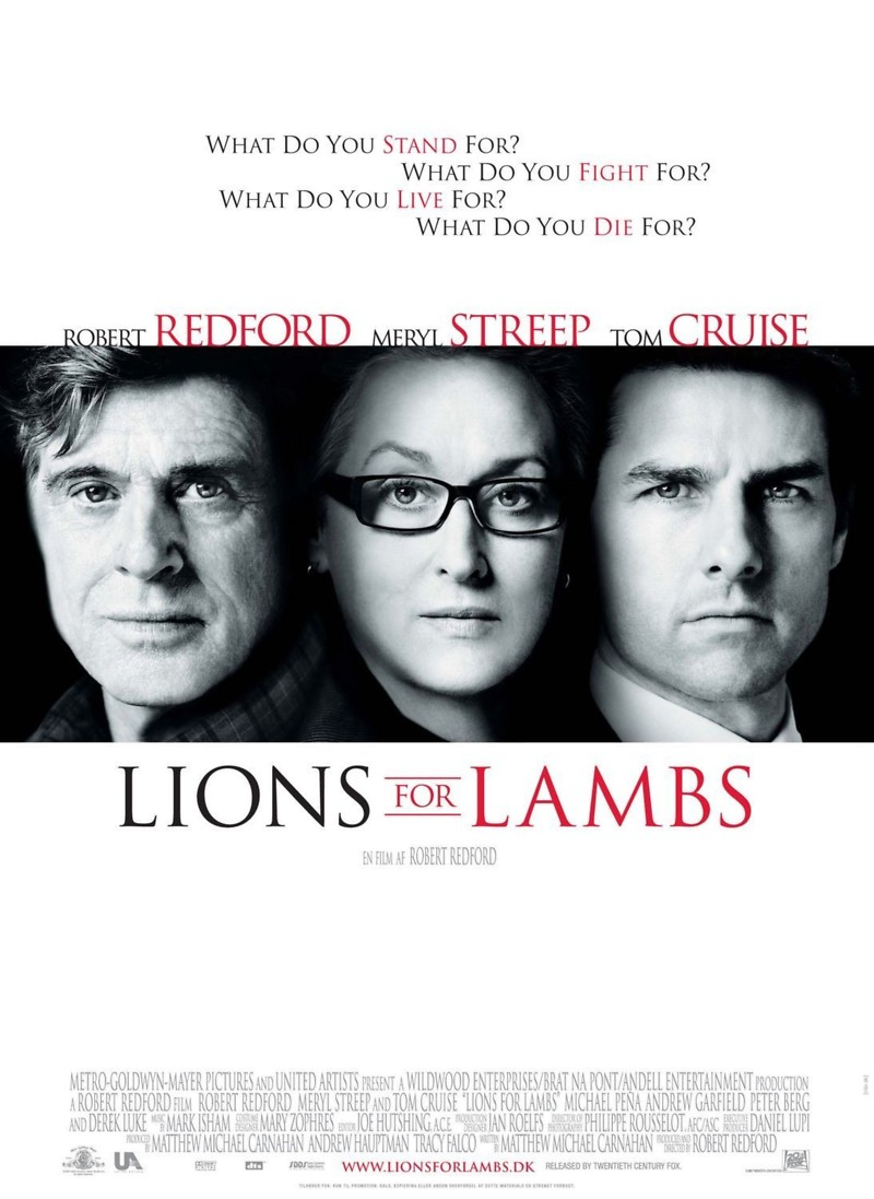 lions for lambs dvd release date april 8 2008