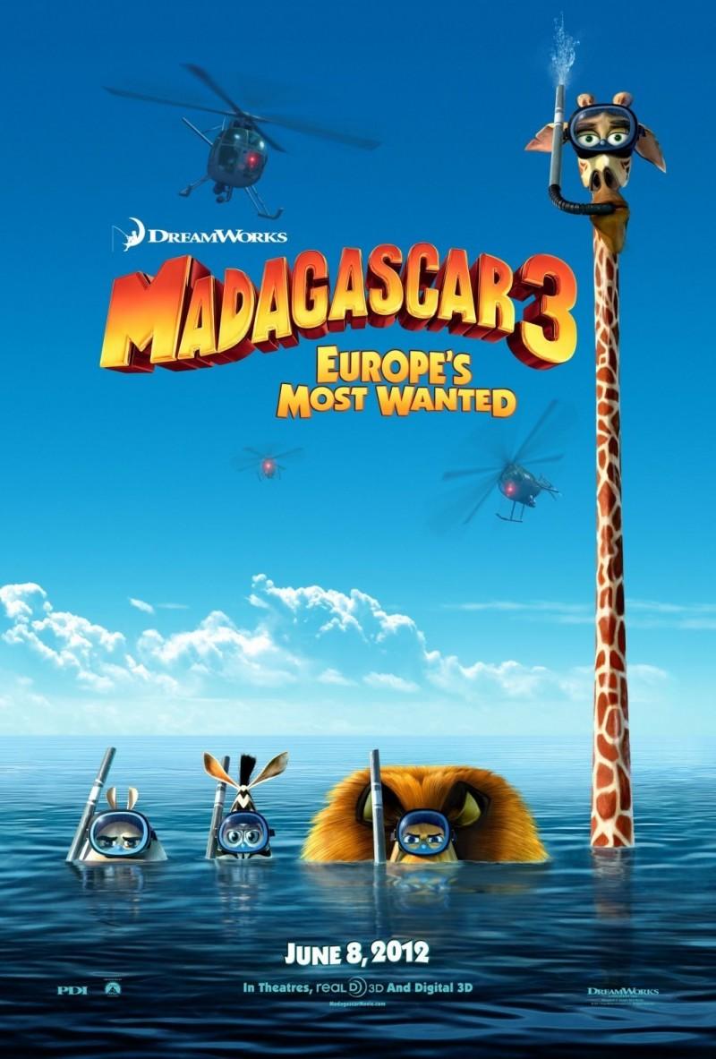 madagascar 3 poster -#main