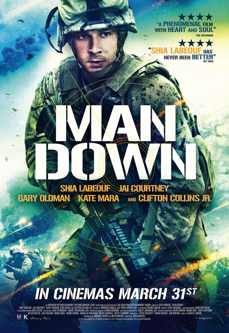 Man Down DVD Release Date March 7, 2017