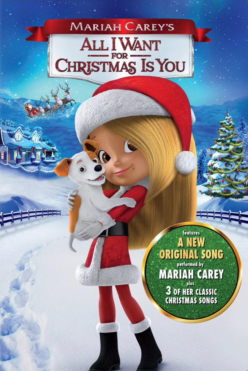 Mariah Carey's All I Want for Christmas Is You DVD Release ...
