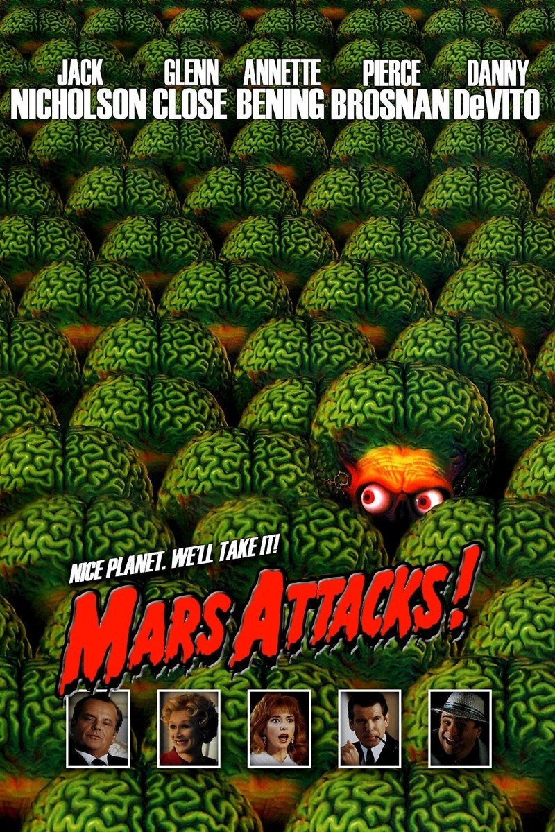Mars attacks dvd release date