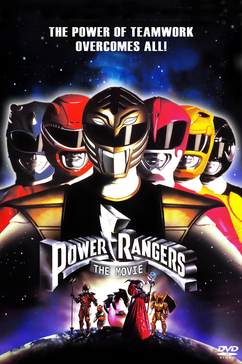 mighty morphin power rangers the movie dvd release date