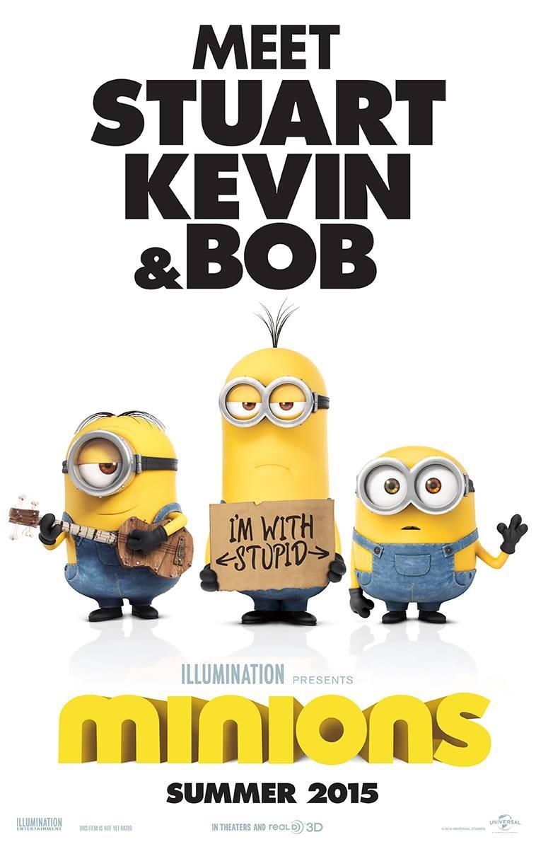 Minions movie release date