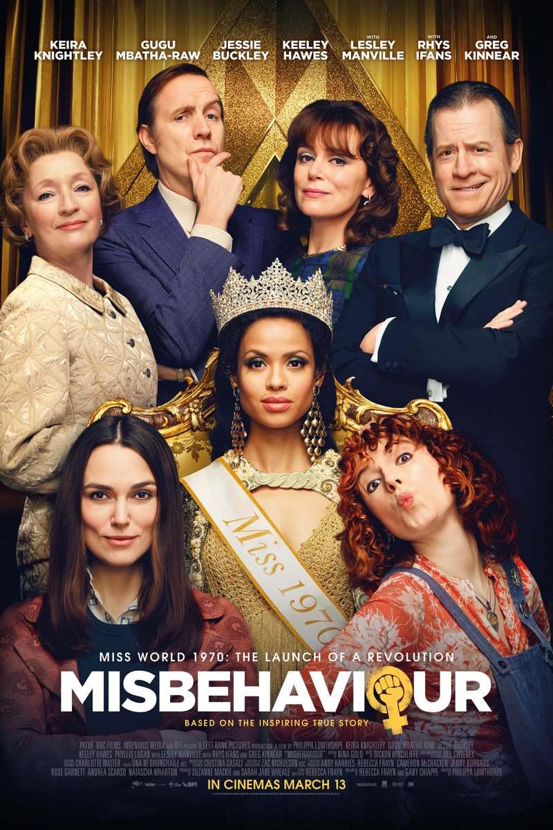 Misbehaviour DVD Release Date November 3, 2020