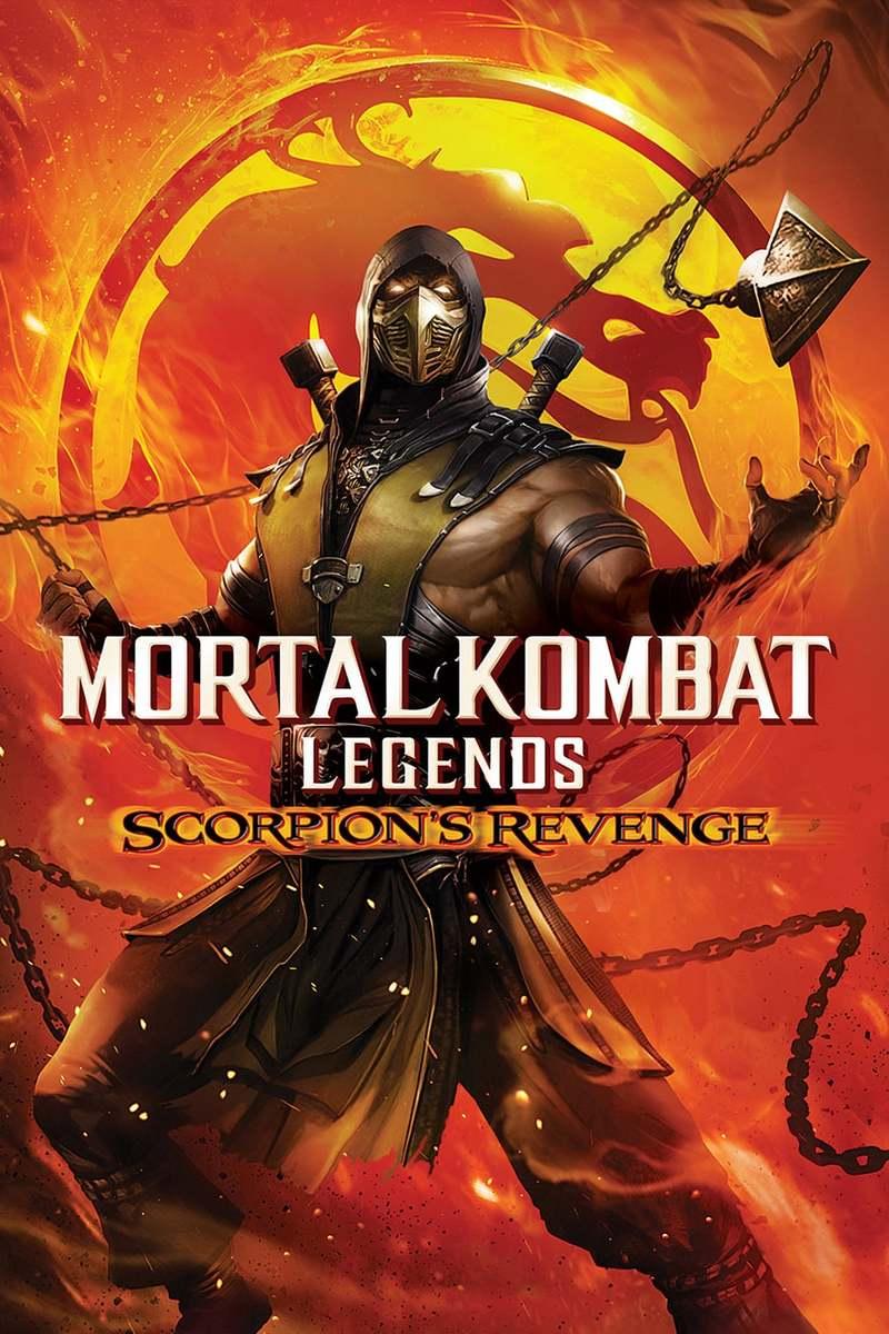 Mortal Kombat Legends Scorpions Revenge Dvd Release Date April 28