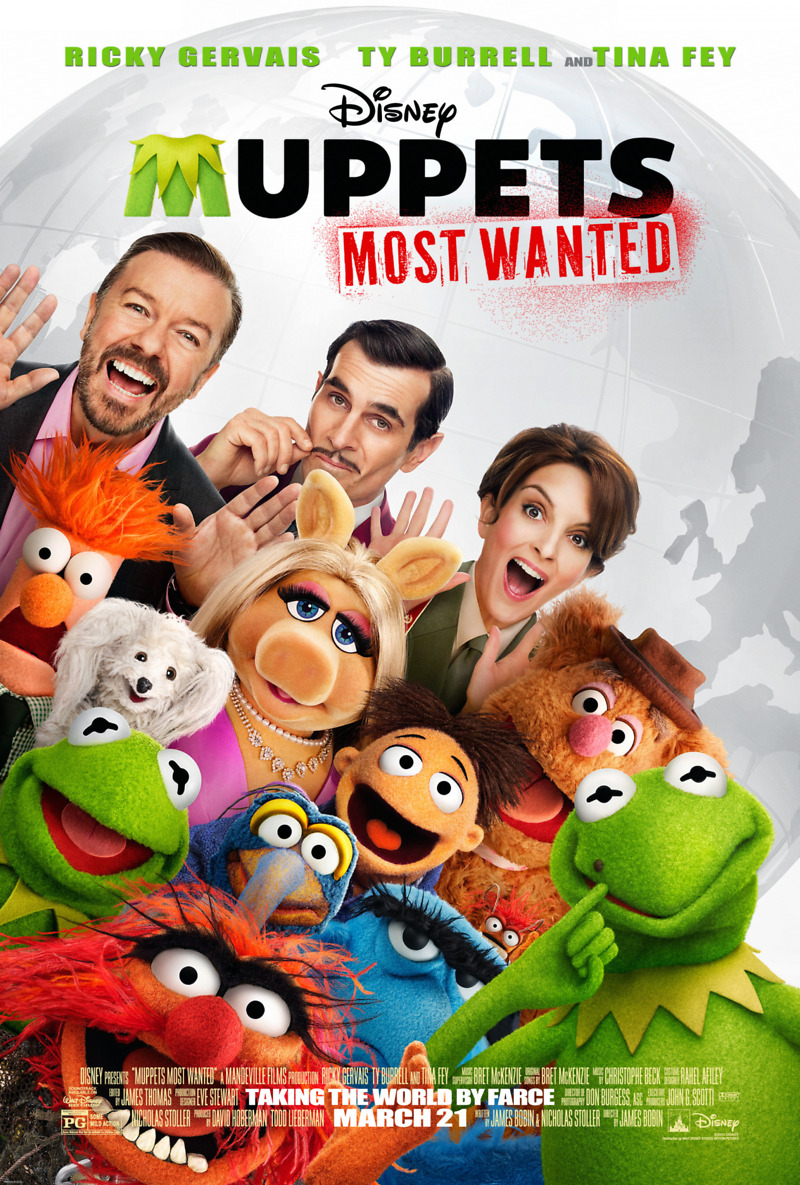 Muppets Most Wanted Blu ray