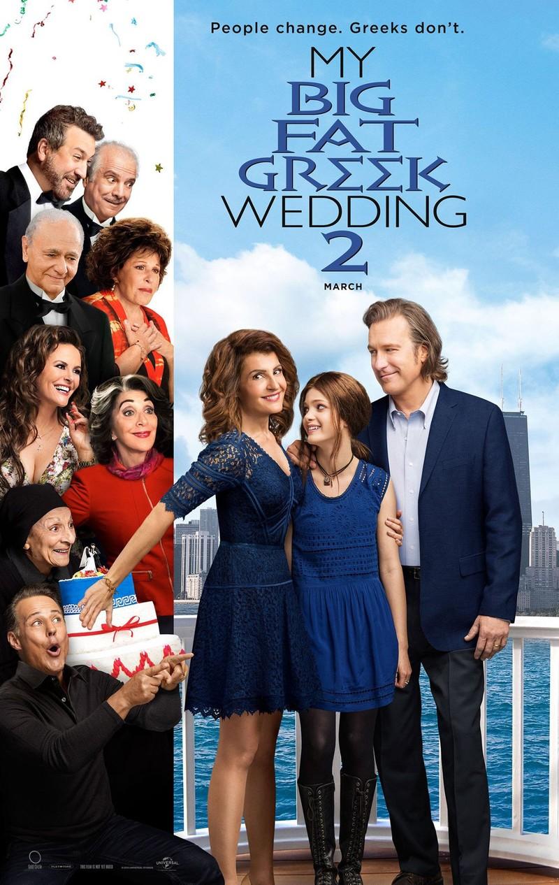 My Fat Greek Wedding 2 2016 Dvd Release Date Movie Poster