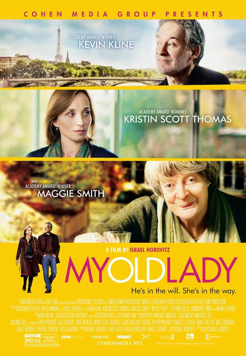 My Old Lady DVD Releas...