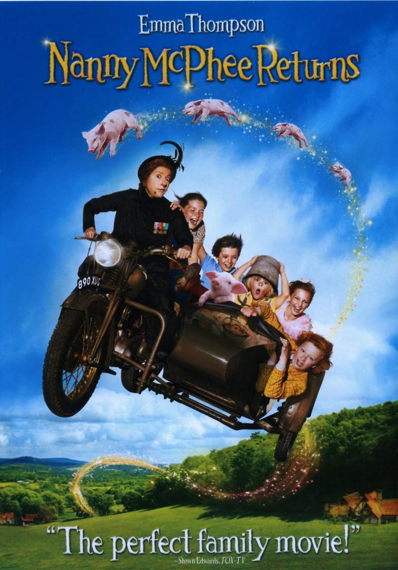 Nanny McPhee Returns (2010) 720p BluRay x264 ESubs AC3 Dual Audio [Hindi DD5.1 + English DD2.0]