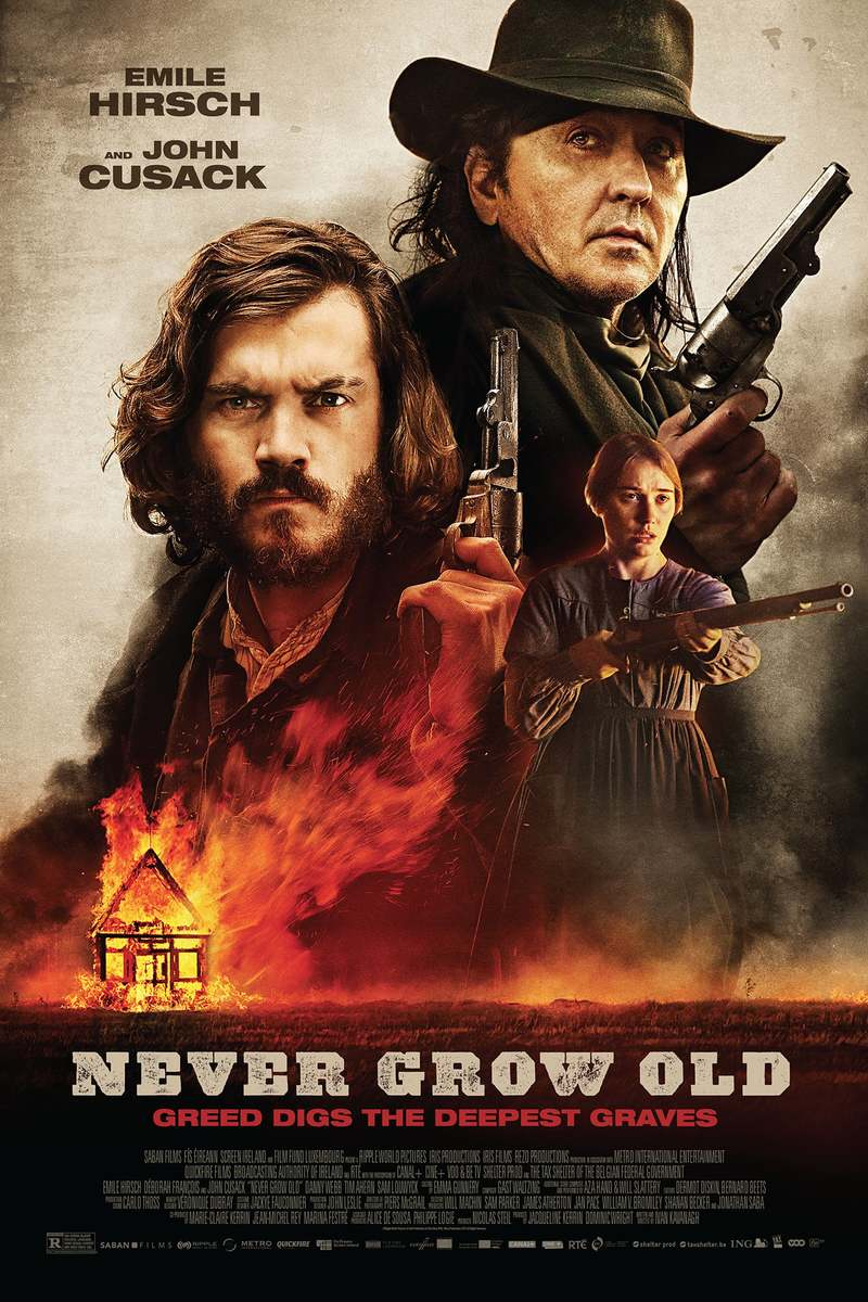 Movie Poster 2019: Never Grow Old DVD Release Date May 14, 2019