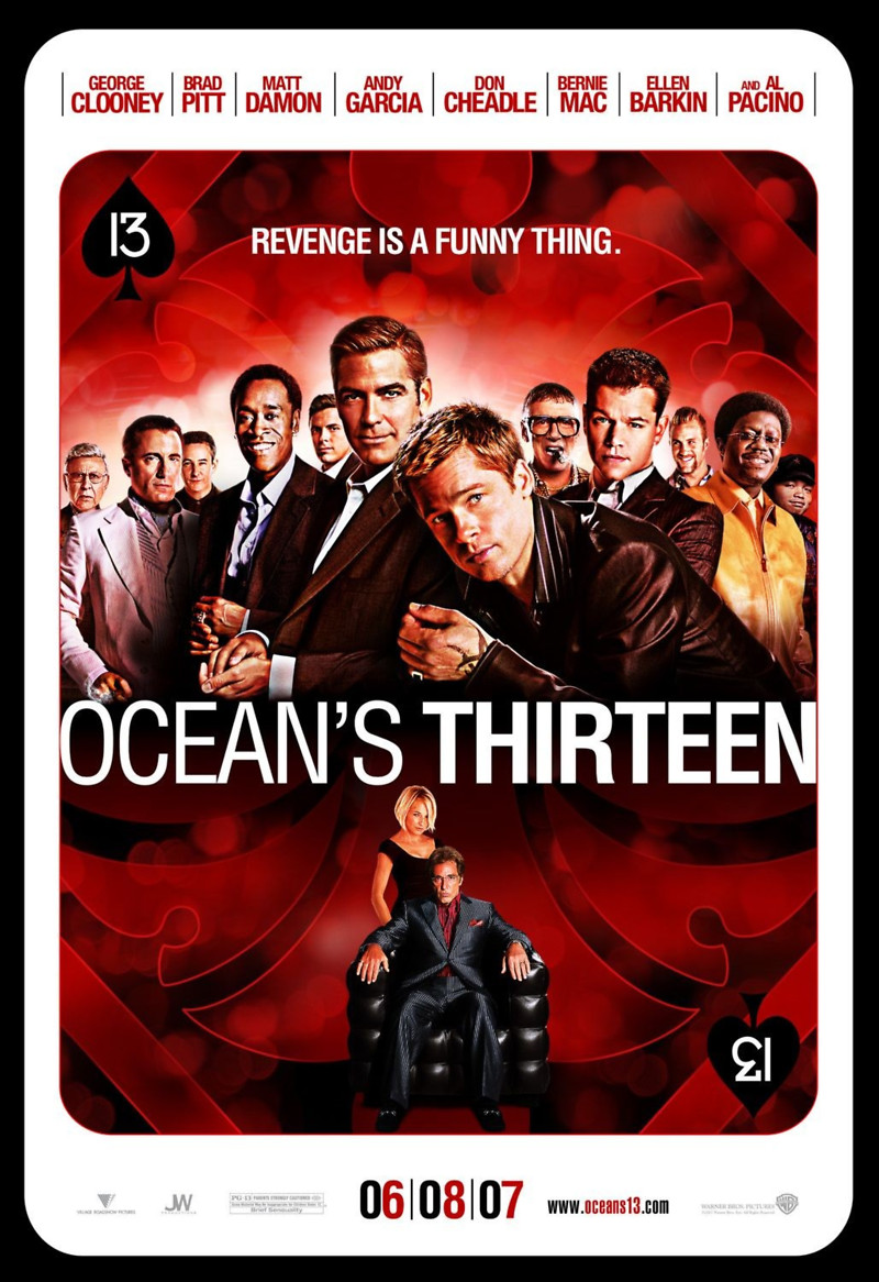 Ocean's Thirteen DVD Release Date November 13, 2007