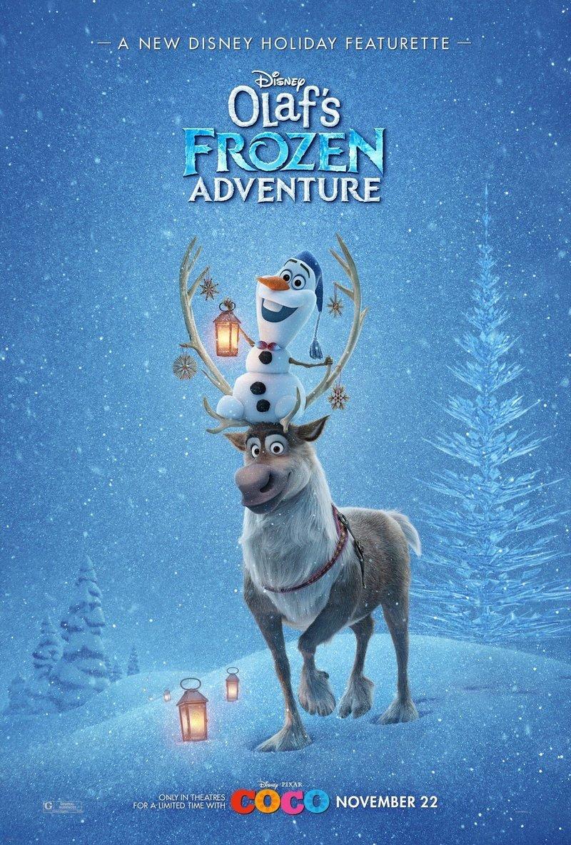Olaf's Frozen Adventure DVD Release Date