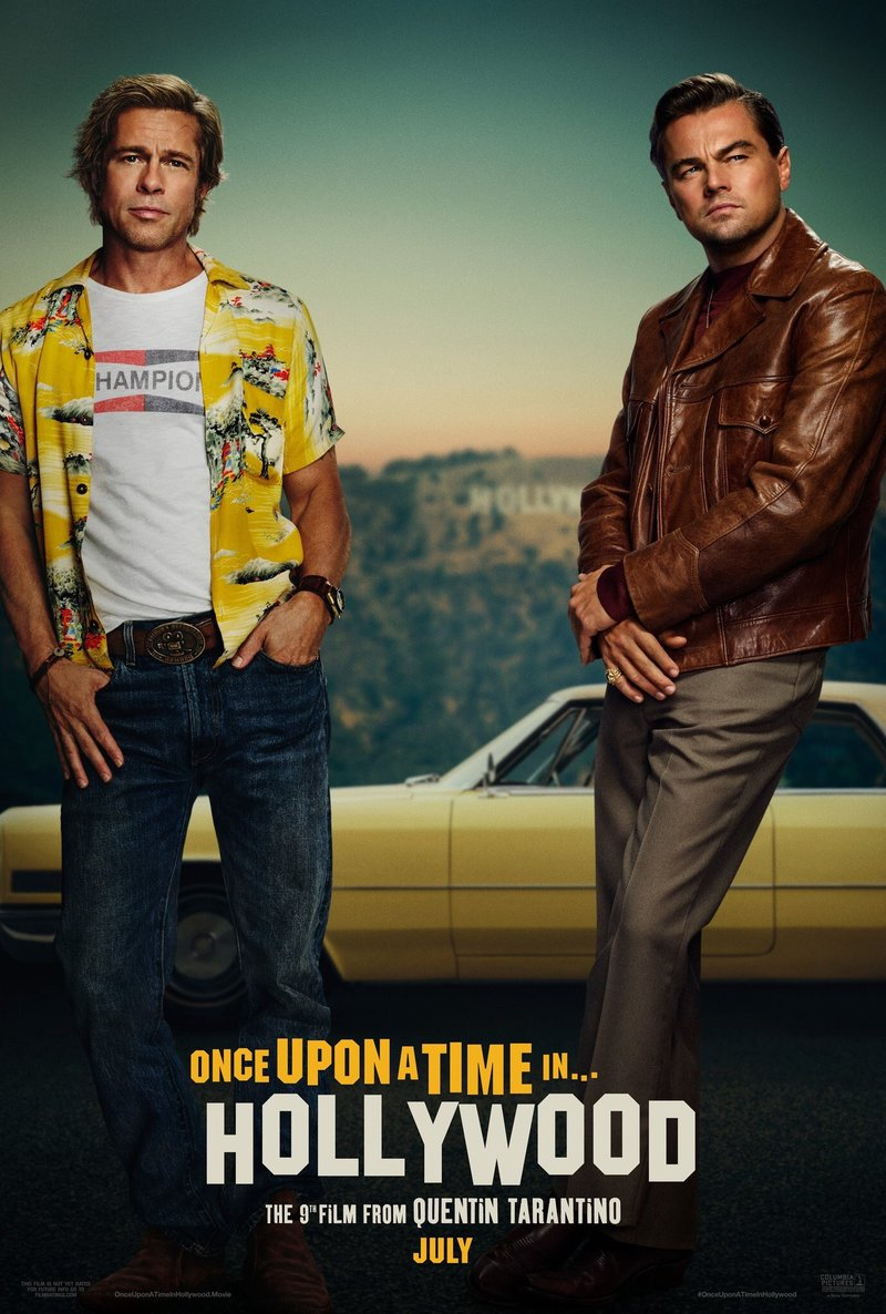 Image result for once upon a time ... in hollywood (2019)