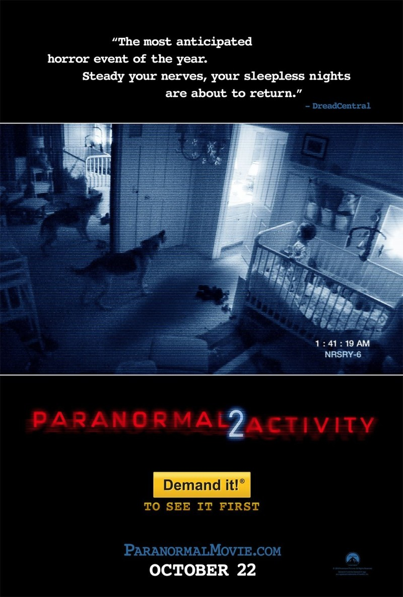 Paranormal activity 6 release date