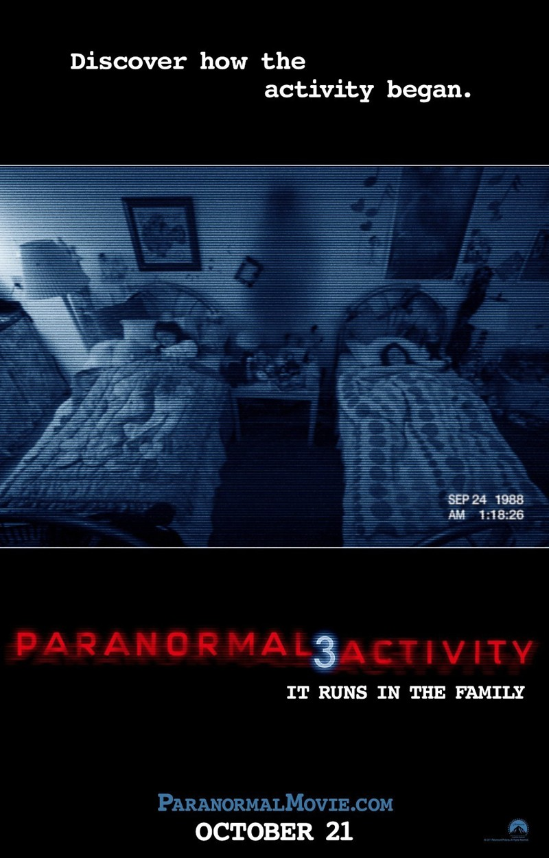Paranormal activity release date in Sydney