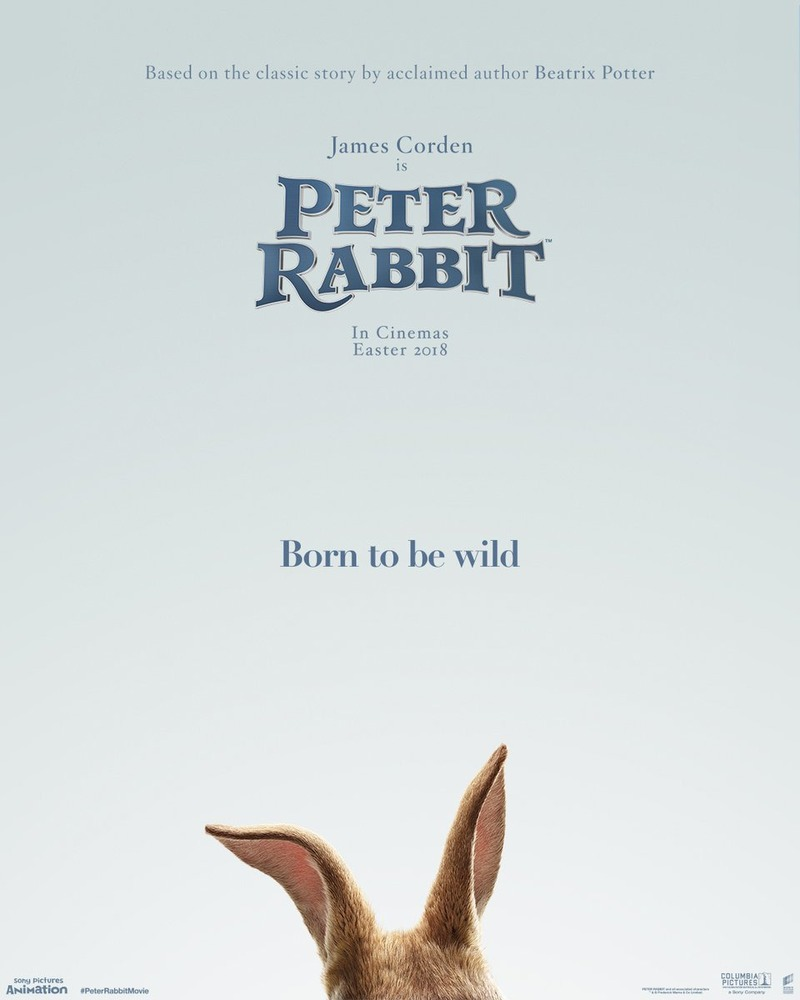 Peter Rabbit DVD Release Date May 1, 2018