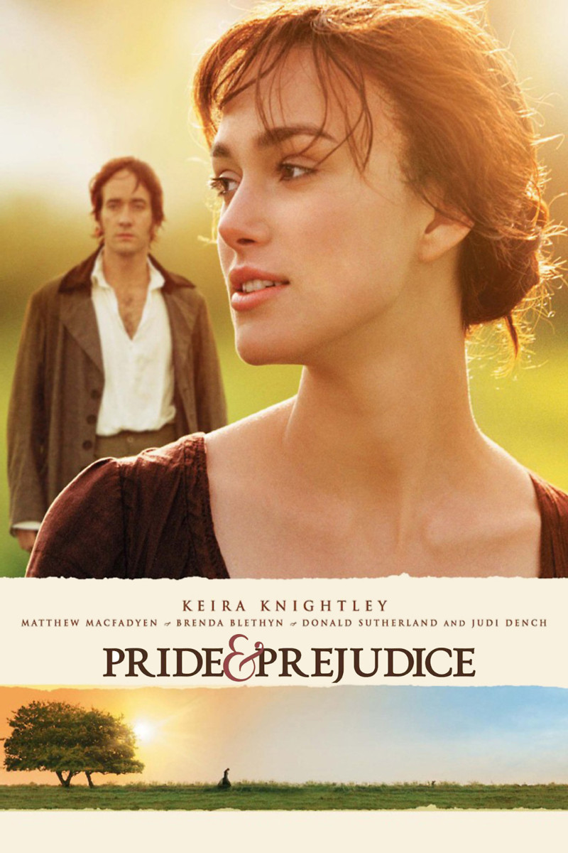 mov pride and prejudice I love the movie adaptation of pride and prejudice with keira knightley and matthew macfadyen, and also the mini-series with colin firth if you are a jane austen fan, here are some other movies and tv series for you that are just like pride and prejudice.
