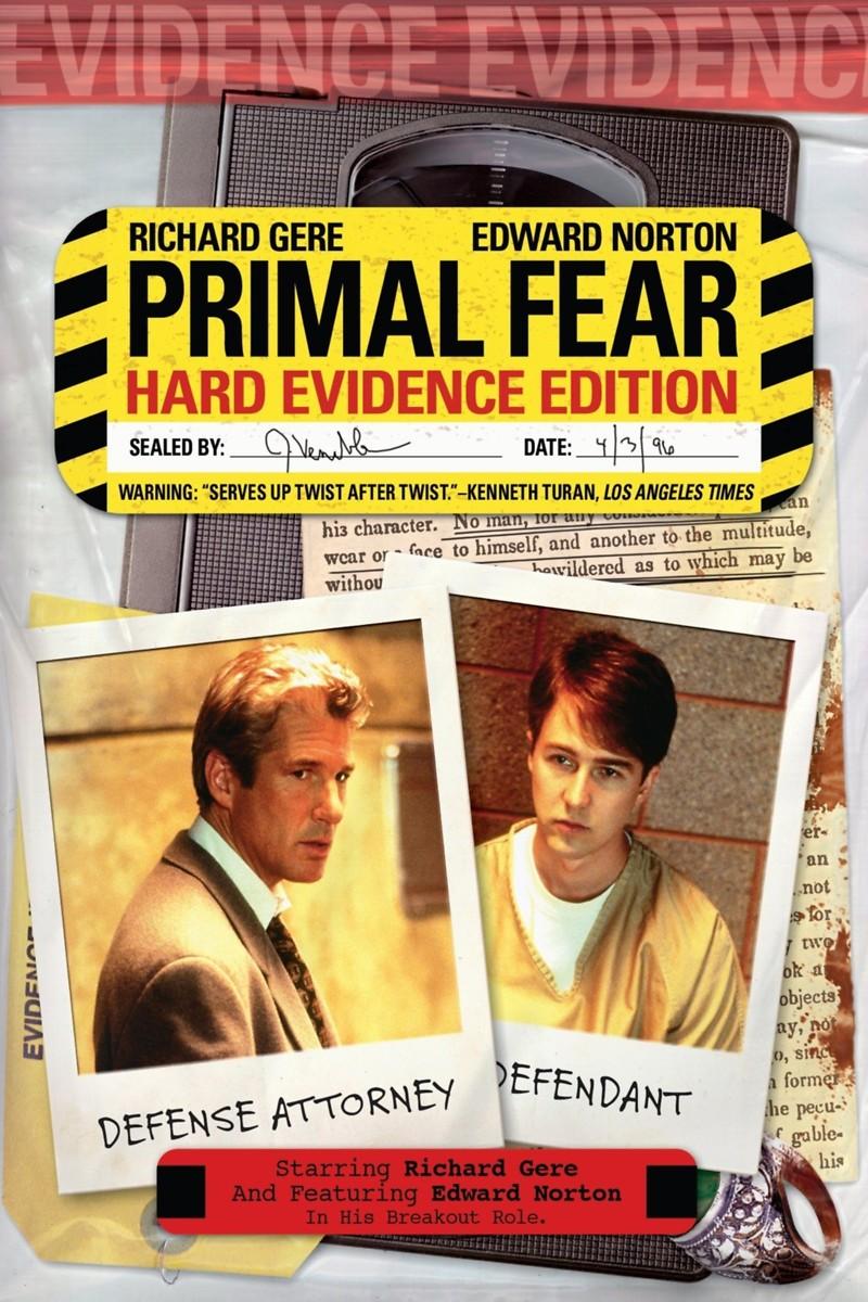 Primal Fear 1996 Primal Fear DVD Releas...